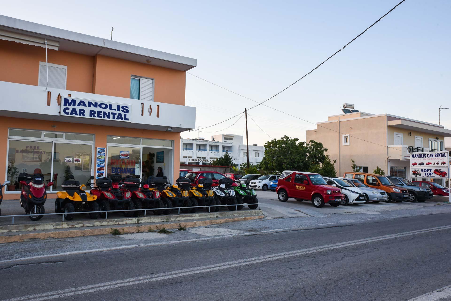 Rent Car In Kefalos Kos Manolis Cars